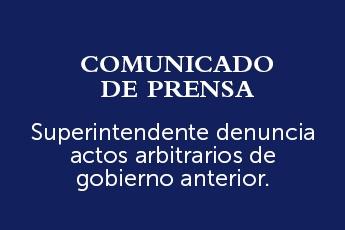Superintendente Villatoro denuncia en la Fiscalía contratación irregular de esposa de exfuncionario de gobierno anterior